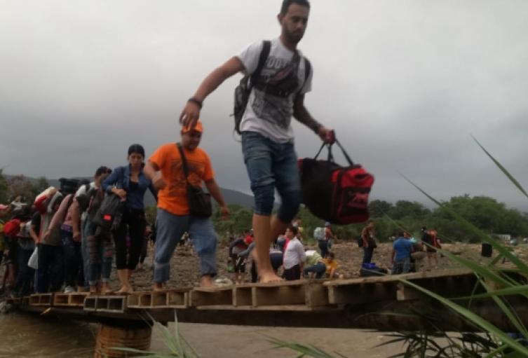 Trochas en la zona de Frontera entre Colombia y Venezuela