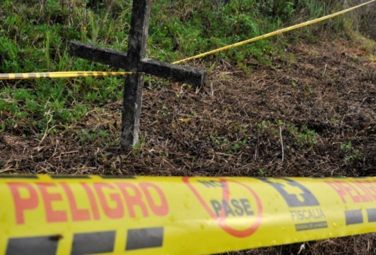 Fosas Comunes donde se presume hay cuerpos de desaparecidos