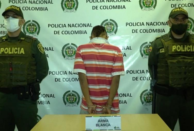 La captura ya fue legalizada y se espera la imposición de medida de aseguramiento.