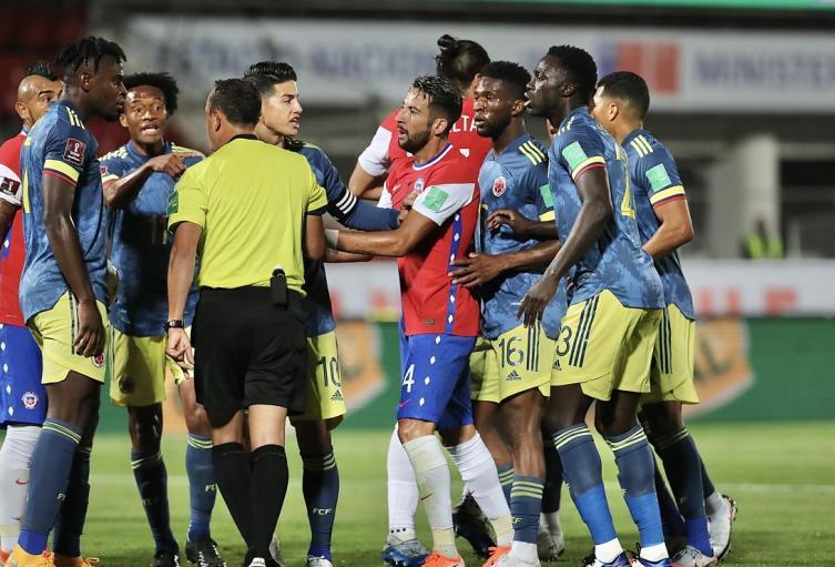 Colombia vs Chile, Eliminatorias a Qatar 2022