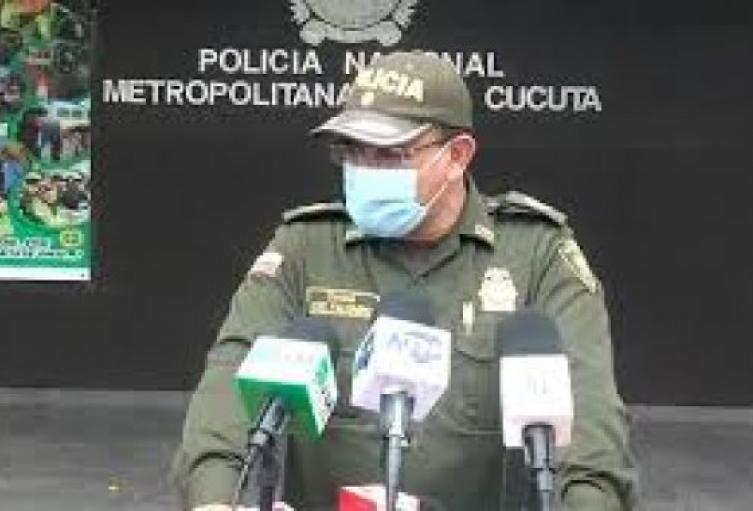 Comandante de la Policía Metropolitana de Cúcuta