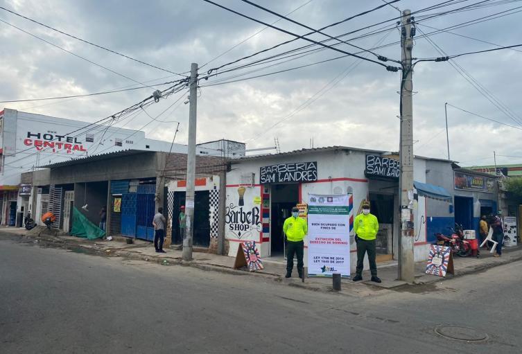 11 bienes inmuebles en Cúcuta extinción de dominio