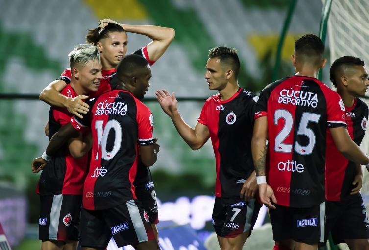 Cúcuta deportivo sumó 14 puntos en la liga 2020