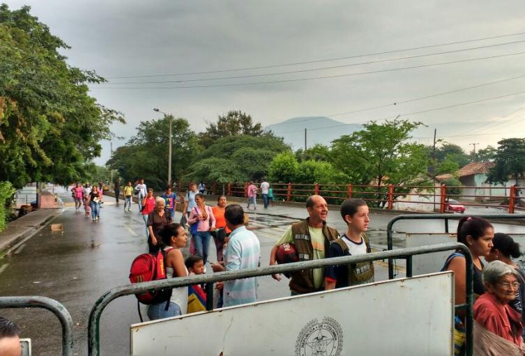 Frontera Colombo-venezolana en Norte de Santander