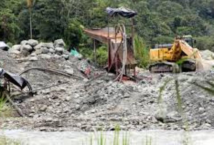 Minería Ilegal en Cúcuta
