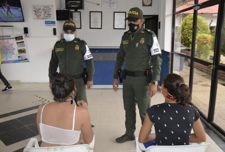 Por el momento las menores venezolanas permanecen en un hogar de paso.