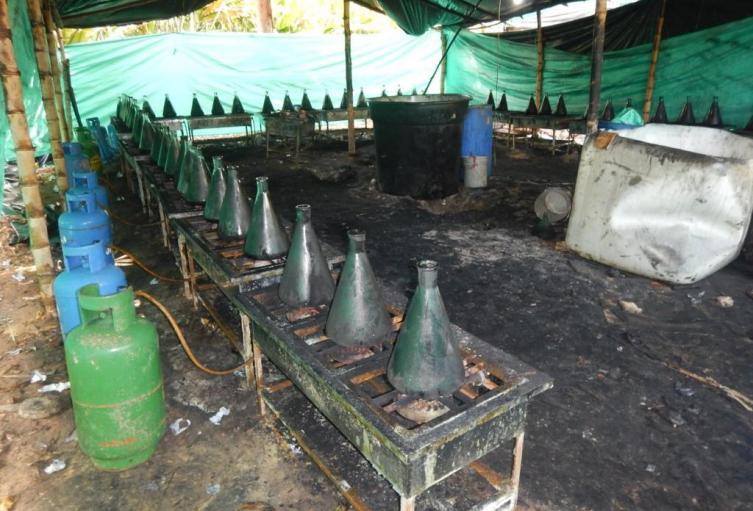 Desmantelan laboratorios en el Catatumbo
