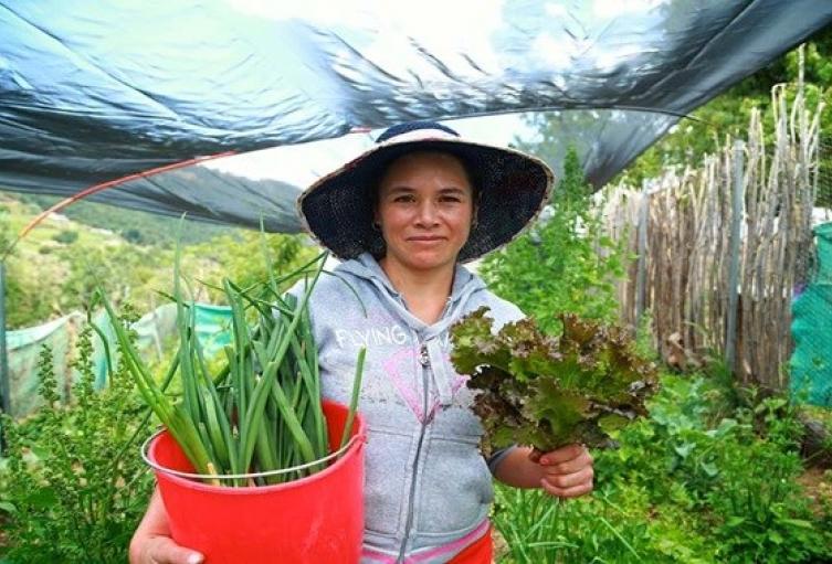 Mujeres de la zona rural