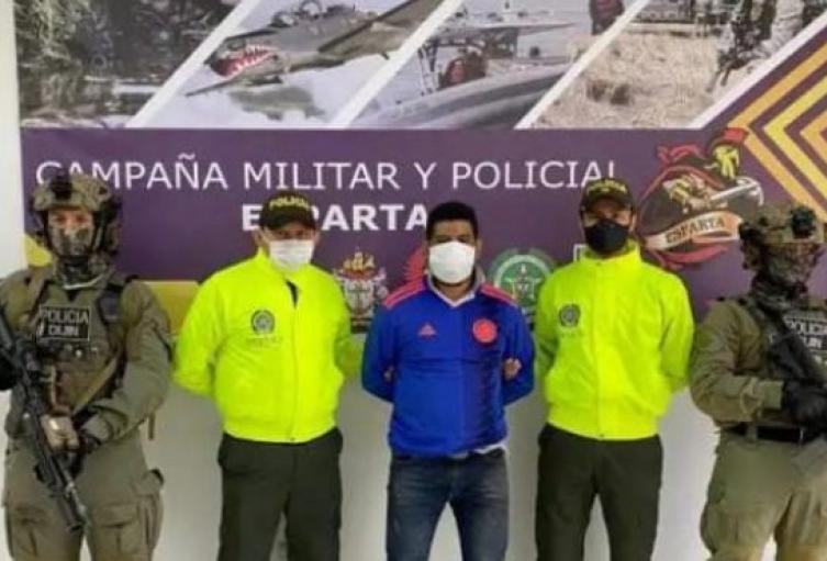 Capturado alias Cóndor de los pelusos en Norte de Santander