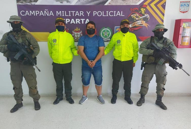 """En el municipio de Salazar de las Palmas fue capturado alias """"Sato"""""""