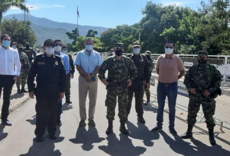 Trochas entre Colombia y Venezuela