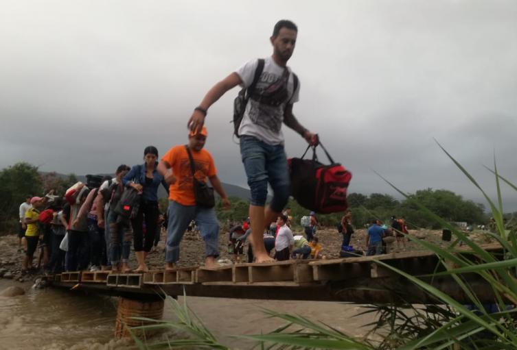 Trochas en la frontera Colombo-venezolana