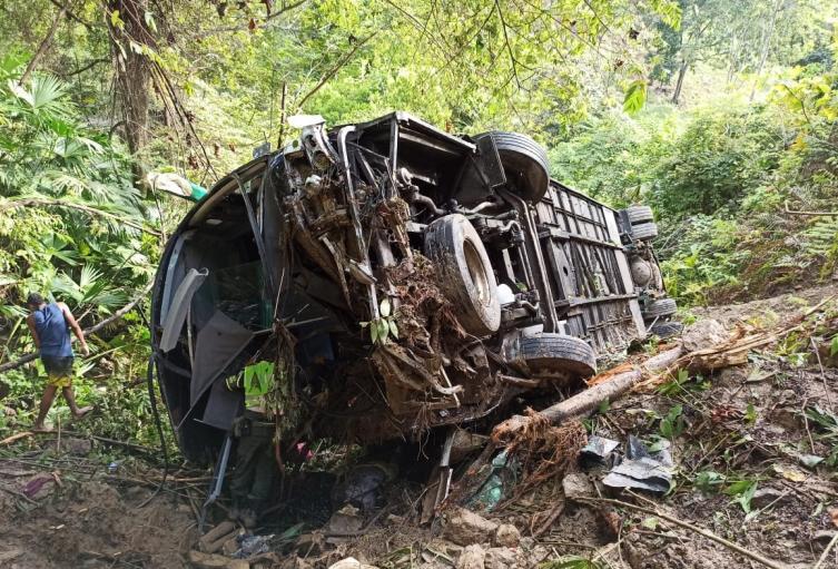 Los 17 heridos fueron trasladados a centros asistenciales en la zona.