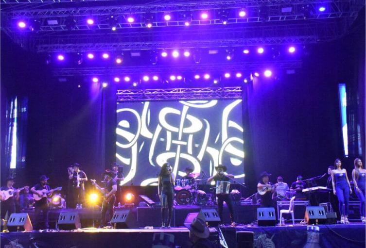 primer concierto en vivo en Bucaramanga