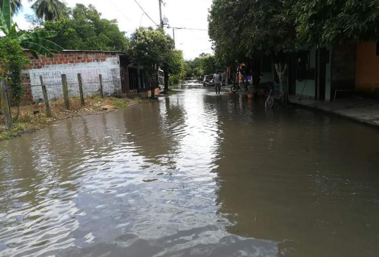 Calamidad pública en Santander