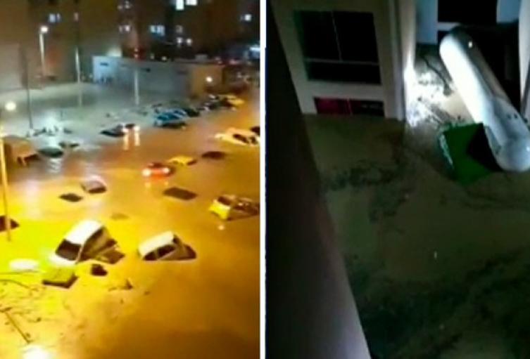 Inundaciones en Cúcuta