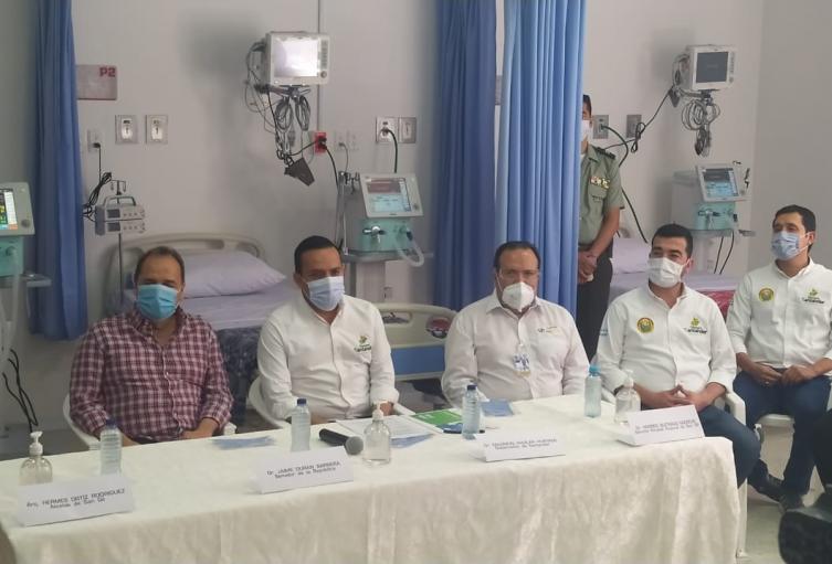 Entrega unidad de cuidados intensivos
