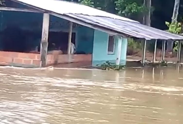 La principal afectación en estos momentos en Rionegro es en el corregimiento La Tigra.