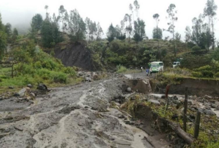 Por lo menos 25 hectáreas de terreno están afectadas.