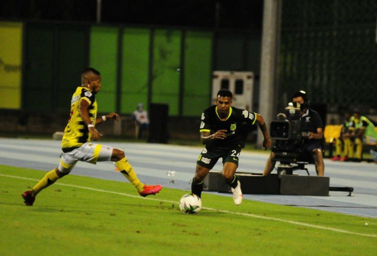 El cuadro verdolaga se llevó de Barrancabermeja  3 puntos importantes para los playoffs