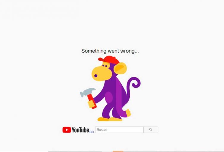 Falla YouTube