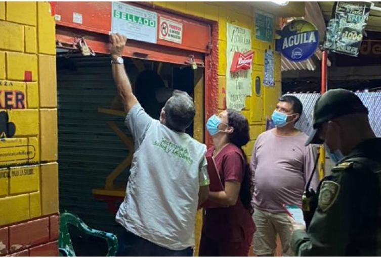 Más de 50 fiestas clandestinas fueron intervenidas en Bucaramanga