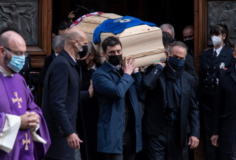 Funeral Paolo Rossi