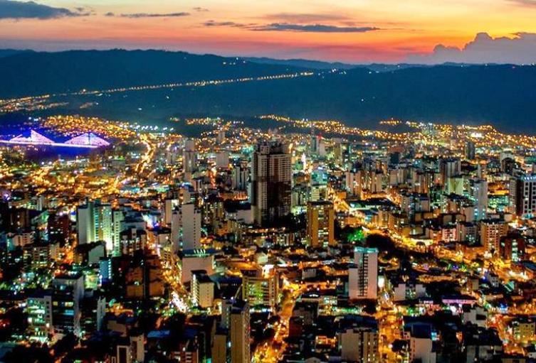 Son 398 años los que cumple Bucaramanga.