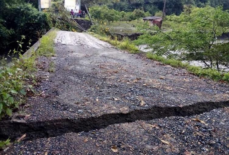 urgencia manifiesta en La Aguada