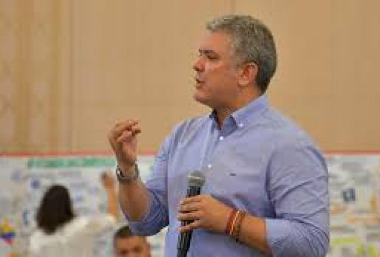 Presidente Iván Duque en Cúcuta