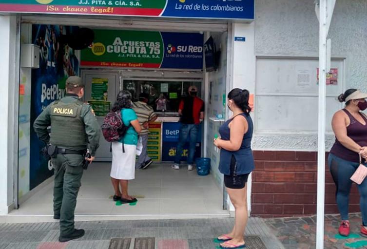 Sexto pago familias en acción Cúcuta