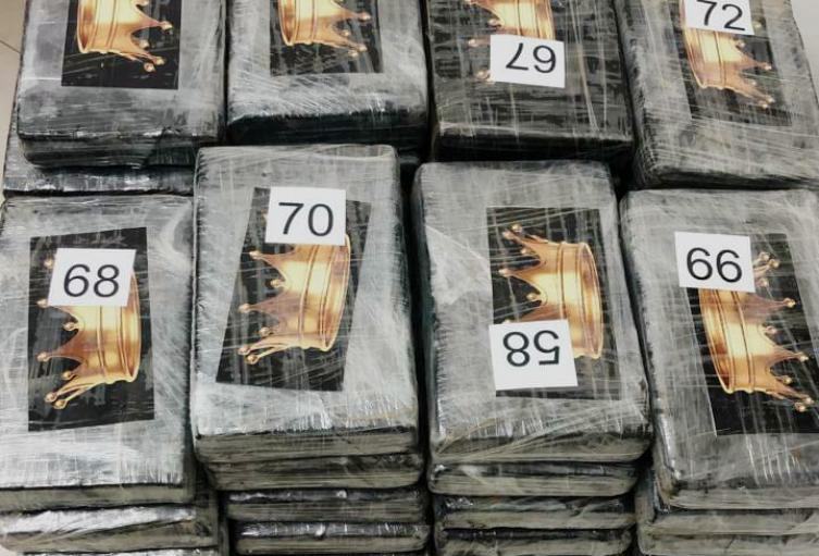 Clorhidrato de Cocaina decomisada en Ocaña