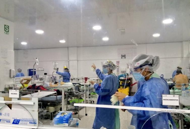 Alerta por profesionales de salud contagiados con covid-19 en Santander