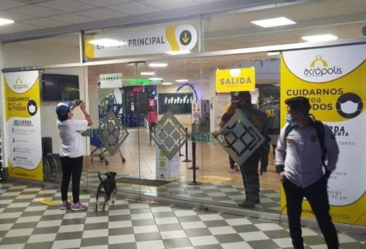 Sellado Centro Comercial de Bucaramanga