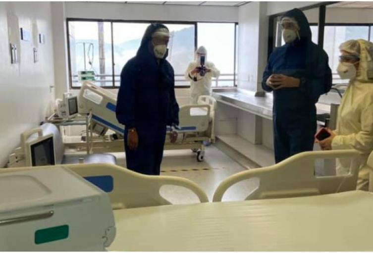 El 50% de las UCI de Bucaramanga están ocupadas por pacientes Covid