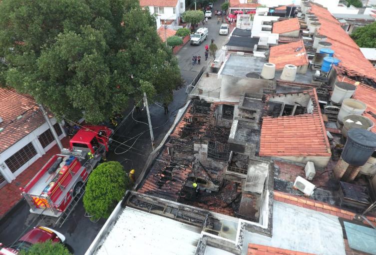 Incendio en Cúcuta