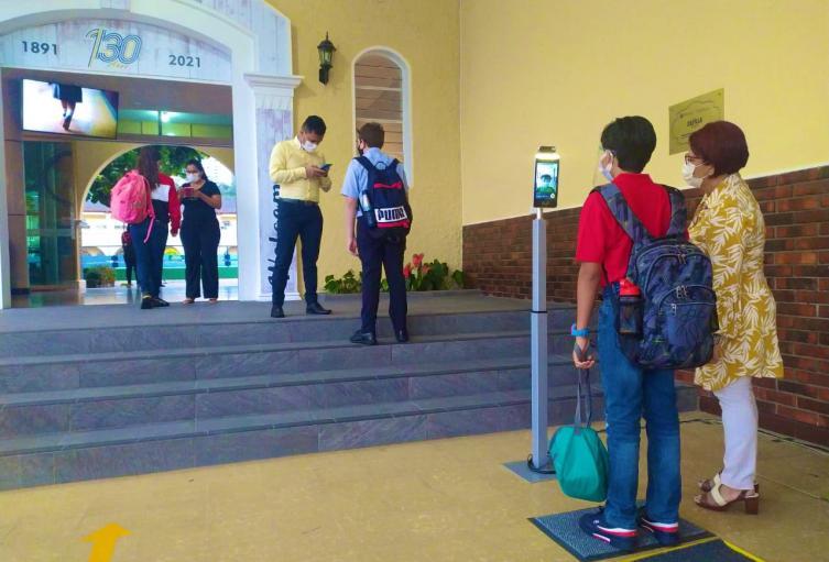 Tres colegios iniciaron alternancia en Bucaramanga (Santander)