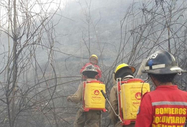 En alerta roja Santander por temporada seca