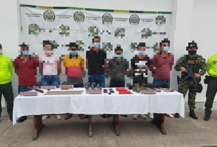 Capturados los Pelusos en Norte de Santander