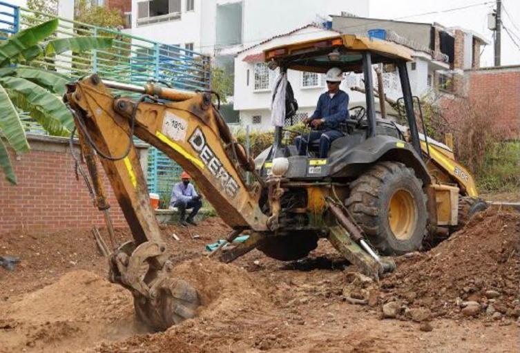 La Gobernación supervisa obras que ejecuta en Barrancabermeja