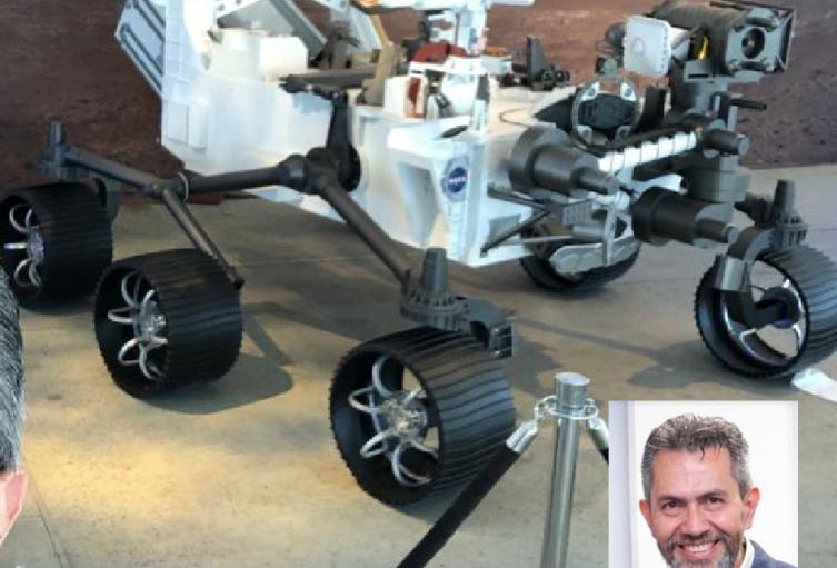 Jorge Alejandro Moreno es ingeniero mecánico y participa de la misión a Marte.
