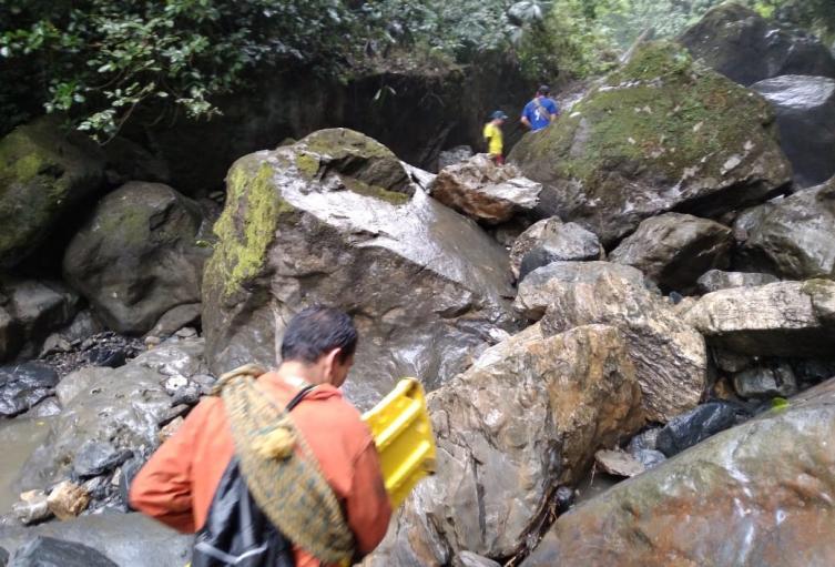 El hecho se presentó en las cascadas que se conocen también como Ventanas de Tisquizoque.