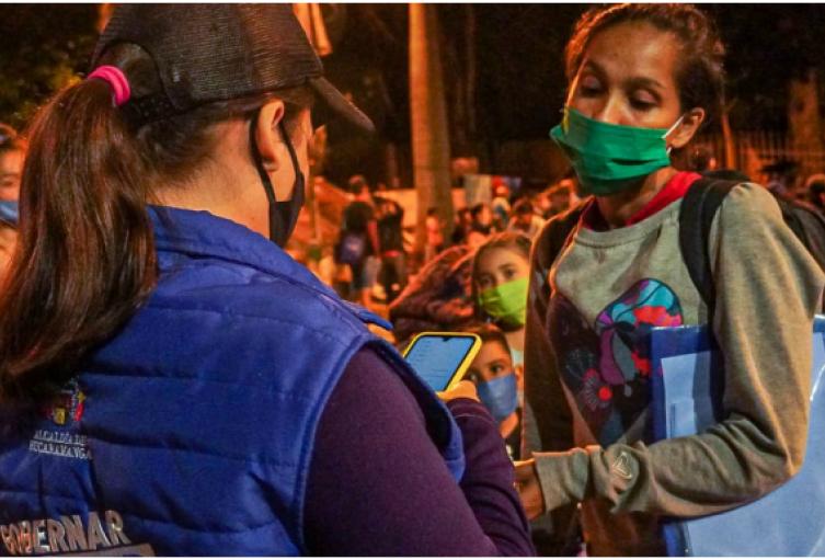 En Bucaramanga migrantes venezolanos celebraron anuncio de regularización