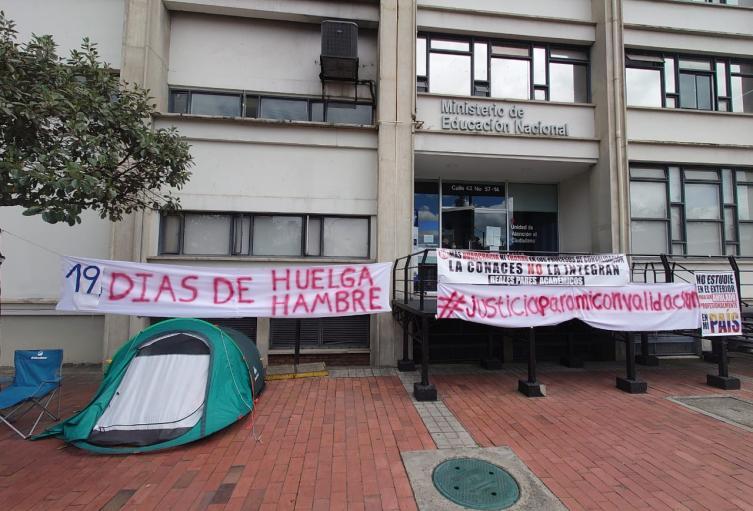 Médico santandereano cumplió 19 días en huelga de hambre para que le validen su especialización