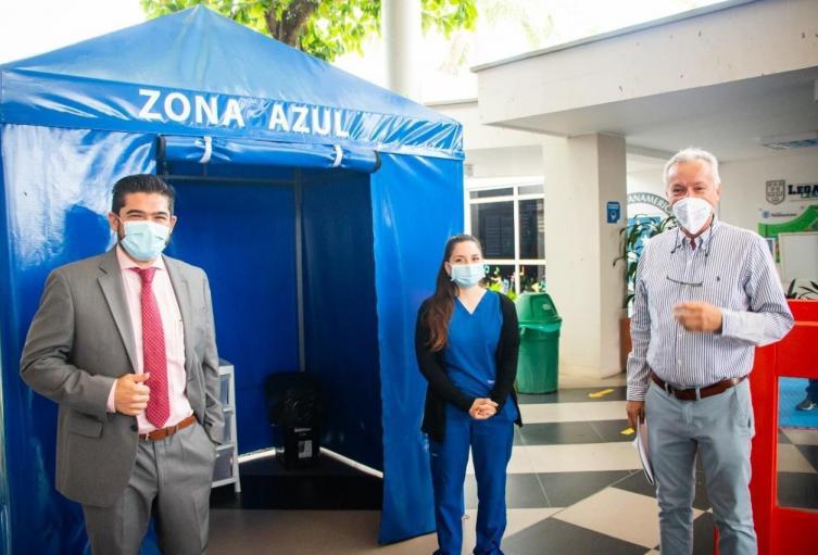 Dos nuevos colegios iniciaron alternancia en Floridablanca (Santander)