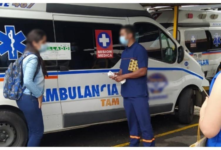 Detectan dos empresas de ambulancias funcionando en la ilegalidad en Bucaramanga