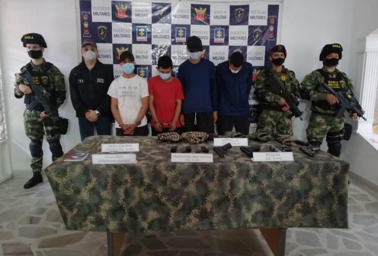 Disidentes de las Farc en Norte de Santander