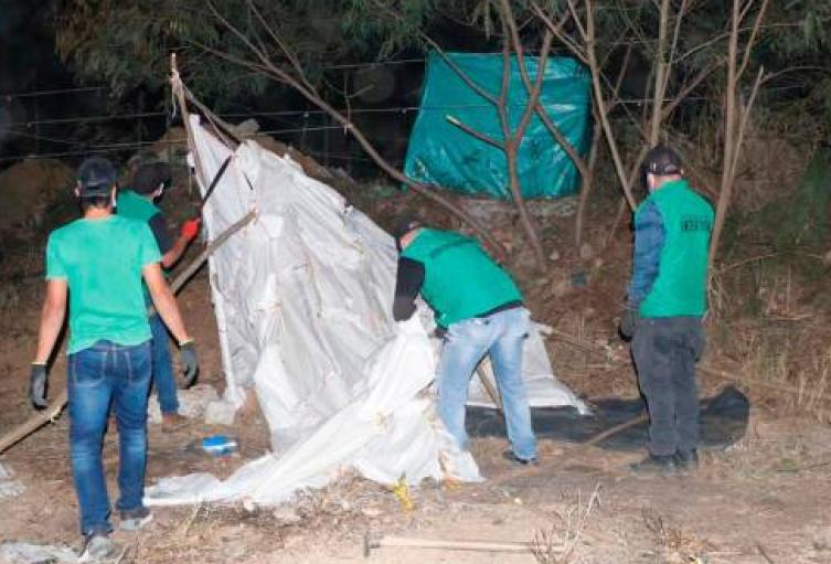 Ofrecen lotes ilegales hasta en 300 mil pesos en Bucaramanga