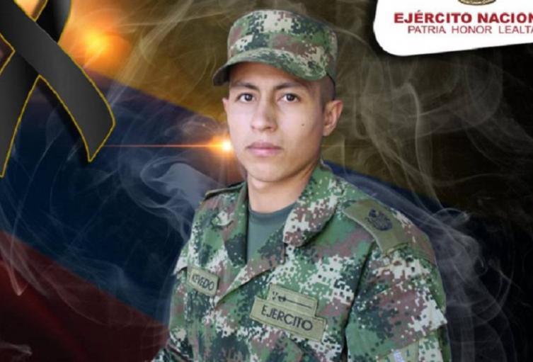 El militar Jairo Acevedo Jaimes