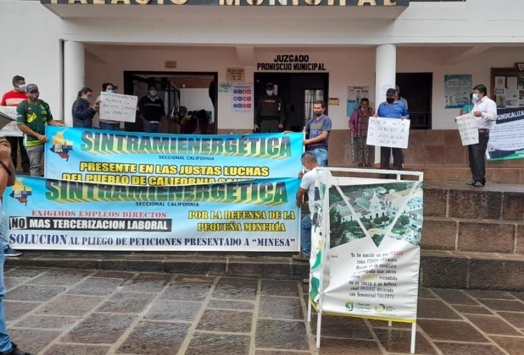 Mineros en Santander protestarán por despidos masivos de Minesa